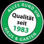 Qualität seit 1983 - Siegel